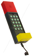 Telefonhoerer  Designtelefon Brondi  um 1985