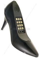 amerikanisches Designtelefon  Stoeckelschuhe  1987