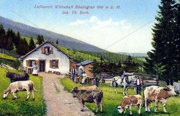 Urlaub in den Vogesen 1912