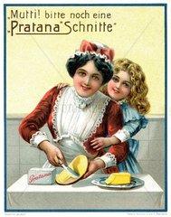 Margarine-Werbung 1913
