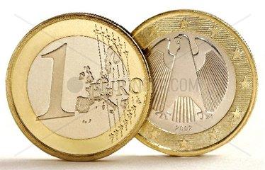 ein Euro Muenze
