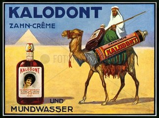 Zahnpasta-Werbung 1914