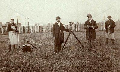 Landvermesser 1893