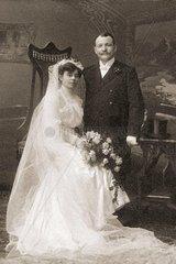 Hochzeitsfoto 1898