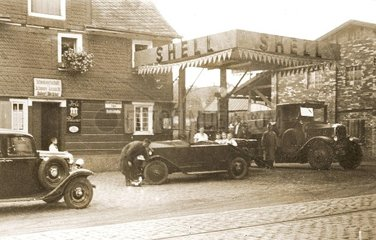 Shell Tankstelle 1929