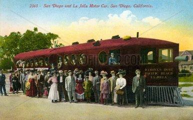Bahnfahrt 1912