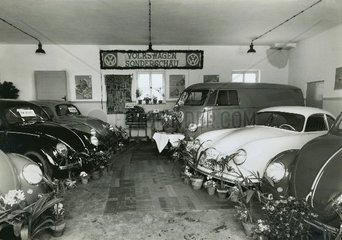 Volkswagen Sonderschau 1956