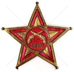 alter Sheriffstern