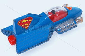 Superman im Supermobile  Spielzeug 1979