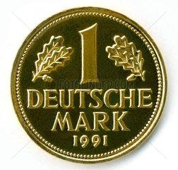 eine D-Mark 1991