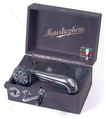 Reisegrammophon  um 1926