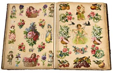 historisches Poesiealbum  1893