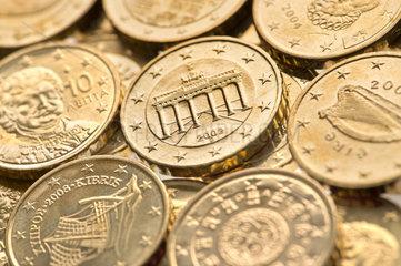 10 Cent Muenzen verschiedener Eurolaender  2002-2008