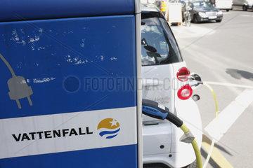 Auto Ladestation von Vattenfall