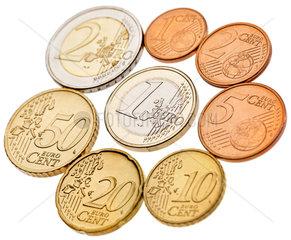 erste Euro-Muenzen  2002