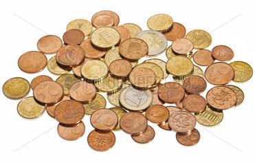 Eurogeld  Euromuenzen  praegefrisch