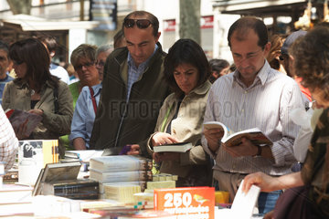 Barcelona (Spain) - UNESCO World Book Day (Sant Jordi Dia)