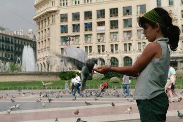 Barcelona (Spain) - Placa de Catalunya