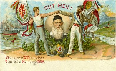 9. Deutsches Turnfest  Hamburg  1898
