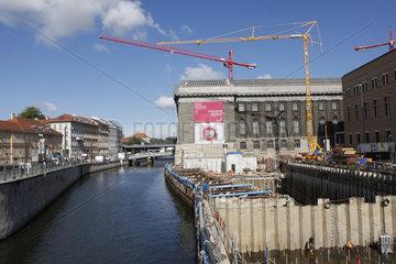 Museuminsel Baustelle
