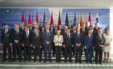 Vucic + Thaci + Milanovic + Bevanda + Rama + Merkel + Barroso + Dukanovic + Gruevski + Faymann + Bratusek