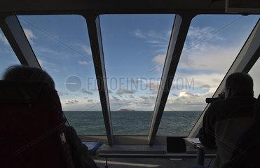 Ueberfahrt nach Helgoland