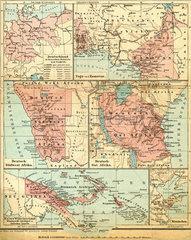 Deutsche Kolonien  1898