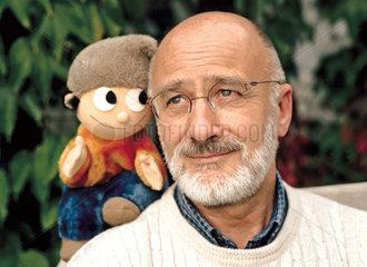 Wolf Gerlach  Erfinder der Mainzelmaennchen  1998