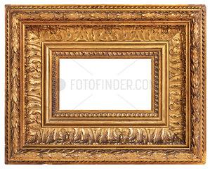 alter vergoldeter Gemaelderahmen  1900