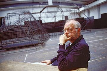 Juergen Flimm  Regisseur  Bayreuther Festspiele 2000