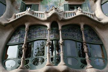 Barcelona (Spain) - Casa Batllo by Antoni Gaudi