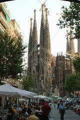 Barcelona (Spain) - Sagrada Familia by Antoni Gaudi