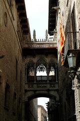 Barcelona (Spain) - The Bridge of Sighs