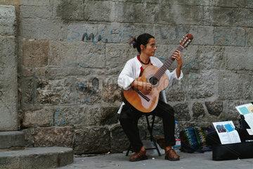 Barcelona (Spain) - Guitarist
