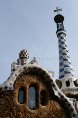 Barcelona (Spain) - Park Guell by Antoni Gaudi