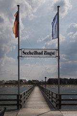 Zingst - Pier