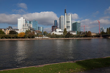 Skyline Banking District - Frankfurt / Main