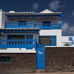 Facade at promenade - Playa Blanca  Lanzarote