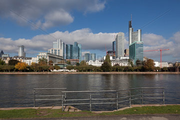 Skyline Banking District - Frankfurt / Main