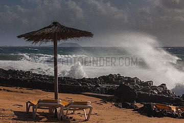 Storm - Playa Blanca  Lanzarote