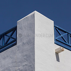 House front detail view - Playa Blanca  Lanzarote