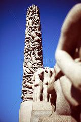 Vigeland Skulpturen in Norwegen