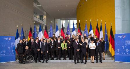 Franzoesische und Deutsche Regierung