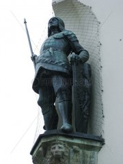Ritter Statue knight statue sculpture Rothenburg