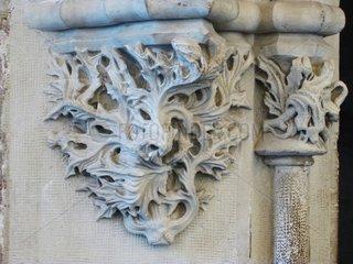 Lonja de la seda Wandverzierung wall sculpture Valencia