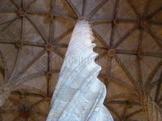 Saeule gotisch pillar gothic Lonja de la Seda Valencia