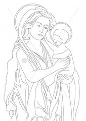 Mutter Maria mother Mary