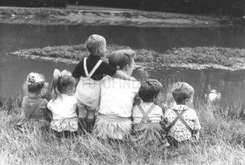 Mutter mit 5 Kindern