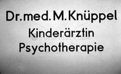Dr. Knueppel  Kinderaerztin