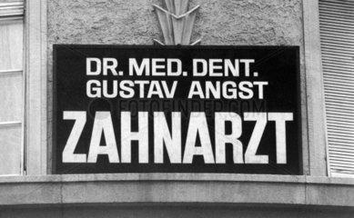 Dr. Angst Zahnarzt